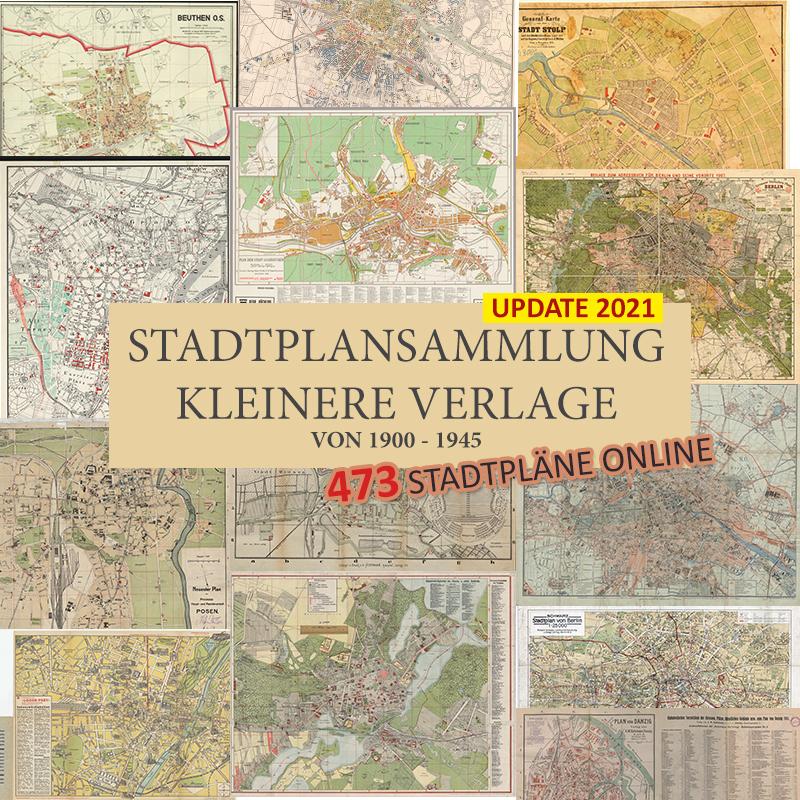 Alte Karte Deutschland 1940.Stadtpläne Von Deutschland Von Verschiedenen Verlagen Und Firmen