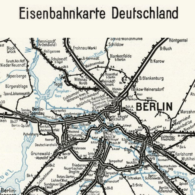 Stillgelegte Eisenbahnstrecken Deutschland Karte