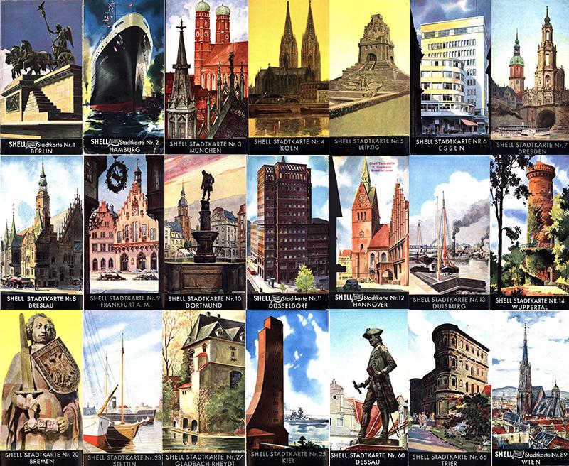 Breslau Karte 1930.Shell Stadtkarten 1934 1939 Landkartenarchiv De