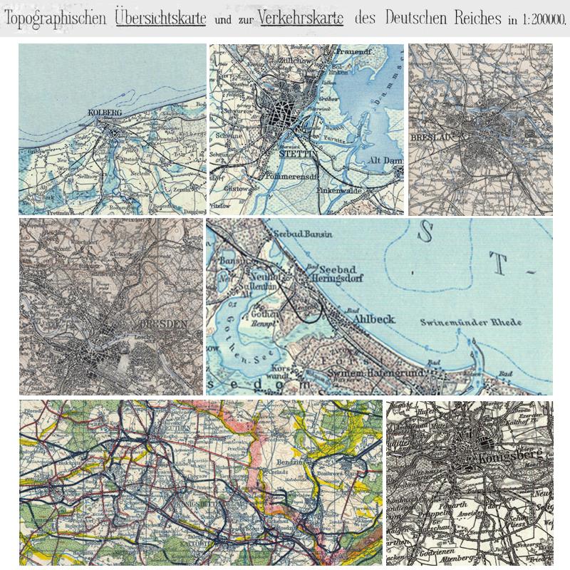 Topographische Karte Deutschland Kostenlos.Topographische Ubersichtskarte Von Mittel Europa 1 200 000