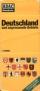 ADAC Reisekarte Deutschland und angrenzende Gebiete 1:750.000 - Jahresausgabe des ADAC an seine Mitglieder 1972