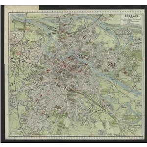 Breslau Karte 1930.Griebens Stadtplane Von Deutschland 1920 1940