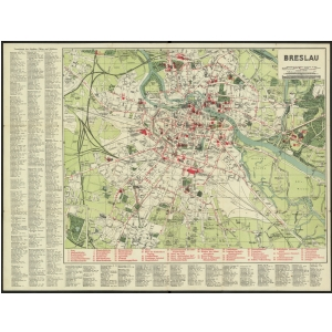 Breslau Karte 1930.Die Grosse Sammlung Historische Stadtplane Von Deutschland
