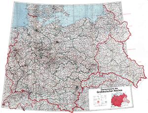 Deutsches Reich Karte 1943.Deutschlandweite Strassenkarten