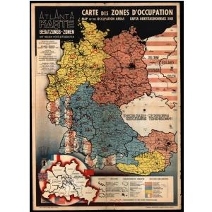 Historische Organisationskarten Burokarten
