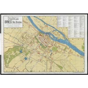 Breslau Karte 1930.Stadtplane Von Deutschland Von Verschiedenen Verlagen Und