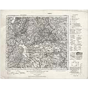 Karte des Deutschen Reichs 1:100.000 (101) Elbing [1937]