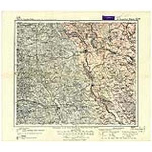 Karte des Deutschen Reichs 1:100.000 (107) Treuburg [1888]