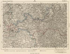 Reymann´s Special-Karte Nr.181 Frankfurt 1:200.000