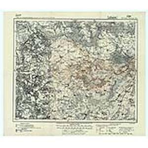 Karte des Deutschen Reichs 1:100.000 (229) Soldau [1914]