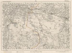 Reymann´s Special-Karte Nr.53 Oldenburg 1:200.000