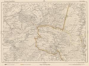 Reymann´s Special-Karte Nr.68 Coevorden 1:200.000