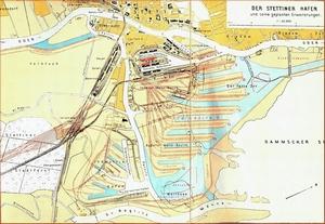 Der Stettiner Hafen und seine geplanten Erweiterungen