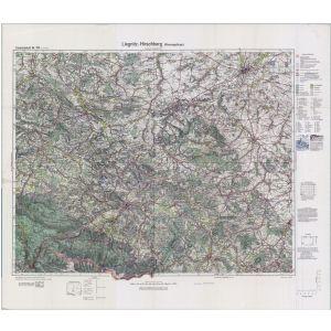 Einheitsblatt 103 - Liegnitz - Hirschberg (Riesengebirge) [Löwenberg, Liegnitz, Hirschberg in Schlesien, Waldenburg in Schlesien] (1932)