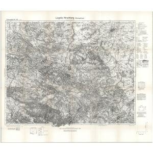 Einheitsblatt 103 - Liegnitz - Hirschberg (Riesengebirge) [Löwenberg, Liegnitz, Hirschberg in Schlesien, Waldenburg in Schlesien] (1935)