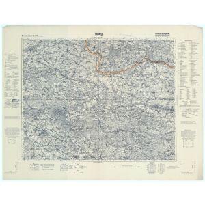 Einheitsblatt 105 - Brieg [Oels, Pitschen, Brieg, Kreuzburg in Oberschlesien] (11/1937)