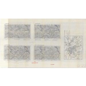 Einheitsblatt 107a - Eupen - Malmedy / Bonn - Euskirchen - Ahrtal (1935)