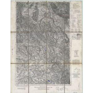 Einheitsblatt 115 - Friedland in Schlesien - Lewin [Schneekoppe, Friedland in Schlesien, Königinhof, Hummelstadt] (1932)