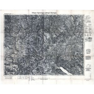Einheitsblatt 152a - Viilingen - Sigmaringen - Tuttlingen - Überlingen [Villingen, Sigmaringen, Tuttlingen, Überlingen] (1933)