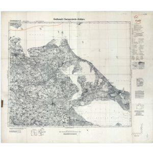 Einheitsblatt 22 - Greifswald - Swinemünde - Anklam [Greifswald, Zinnowitz, Anklam, Swinemünde] (1935)
