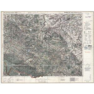 Großblatt 103 - Liegnitz - Hirschberg (Riesengebirge) [Löwenberg, Liegnitz, Hirschberg in Schlesien, Waldenburg in Schlesien] (1938)