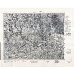 Großblatt 141 - Beilngries - Regensburg - Ingolstadt - Kelheim [Beilngries, Regensburg, Ingolstadt, Kelheim] (1940)