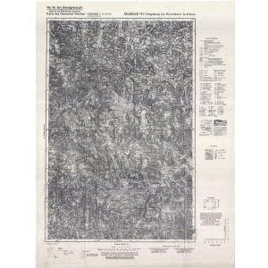 Großblatt 143 - Umgebung von Hirschbach - Grafenau [Winterberg (Hirschbach), Grafenau] (1940)