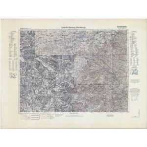 Großblatt 144a - Luneville - Saarburg (Sarrebourg) [Bortenach, Saarburg, Schirneck] (9/1939)