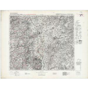 Großblatt 27 - Marienburg (Westpreußen) - Preußisch Stargard [Dirschau, Marienburg, Preußisch Stargard, Stuhm] (VII/1944)