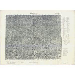 Großblatt 371 - Wlodzimierzec [Kuchecka Wola, Chimooz, Maniewicze, Wlodzimierzec]