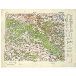 Großblatt 384 - Zamosc [Bilgoraj, Zamosc, Lezajsk, Narol] (VII/1941)
