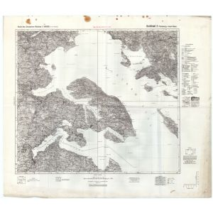 Großblatt 3 - Flensburg - Insel Alsen [Apenrade, Tarup, Flensburg, Augustenburg] (1941)