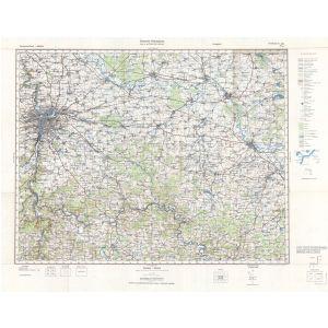 Großblatt 403 - Prag [Prag, Kolin, Beneschau, Kuttenberg] (III/1945)