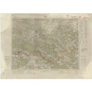 Großblatt 412 - Gorlice [Neu Sandez, Gorlice, Szczawnica, Krynice] (VII/1941)
