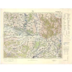 Großblatt 415 - Stryi [Rudki, Bebrka, Drohobycz, Stryj] (VI/1941)