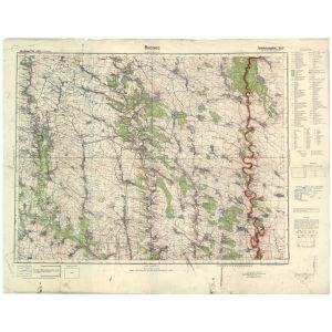 Großblatt 429 - Buczacz [Buczacz, Kopyczynce, Dagielnica, Borszczow] (XII/1942)