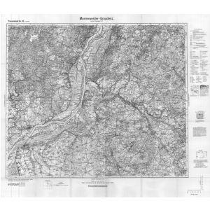 Großblatt 42 - Marienwerder - Graudenz [Neuenburg, Marienwerder, Graudenz, Briesen]
