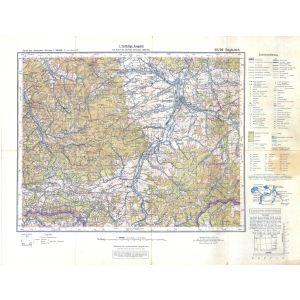 Großblatt 50 - Saybusch [Lenzen, Perleberg, Wittenberge, Havelberg] (1928)