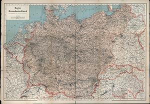 Karte von Großdeutschland 1:2.500.000 (1944)
