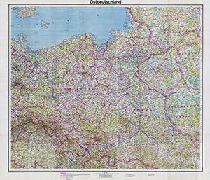 Ostdeutschland 1:800.000 (Februar 1943)