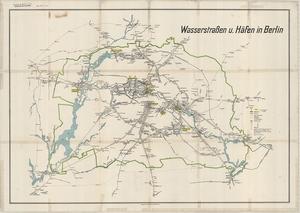 Wasserstraßen und Häfen von Berlin (vor 1945)