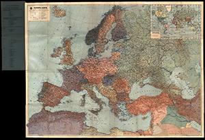 DDAC Europakarte 1:5.000.000 (1940)