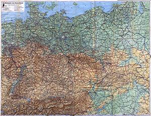 DDAC Strassenkarte von Deutschland 1:1.250.000 (1940)