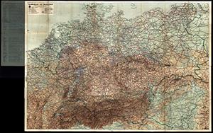DDAC Strassenkarte von Deutschland 1:1.250.000 (Juli 1941)