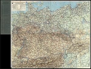 DDAC Strassenzustandskarte von Deutschland 1:1.100.000 (1939)
