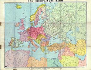 Der Europäische Raum 1:6.000.000 (Mai 1943)