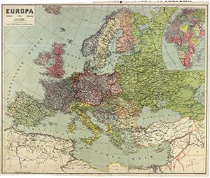 Europa - Mittelmeer, Afrika, Kleinasien 1:5.000.000 (Mai 1941)