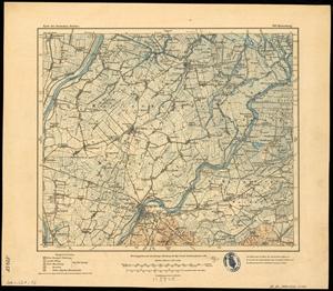 Karte des Deutschen Reichs 1:100.000 (100) Malbork in Polen [1912]