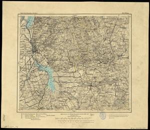 Karte des Deutschen Reichs 1:100.000 (101) Elblag in Polen [1910]