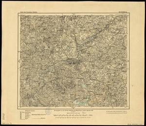 Karte des Deutschen Reichs 1:100.000 (103) Lidzbark Warminski in Polen [1907]